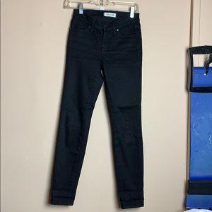 Madewell Black Skinny Skinny B1799 Jeans Size 25